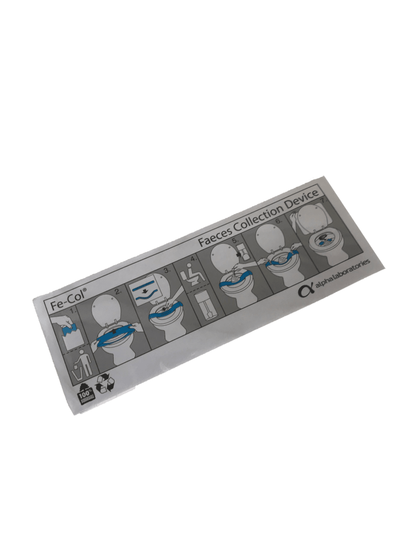 Kit de prélèvement et d'analyse du microbiote intestinal - Nahibu